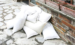 Filled Mini Sandbags UK
