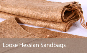 Loose Hessian Sand Bags
