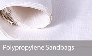 Empty White Polypropylele Sandbags