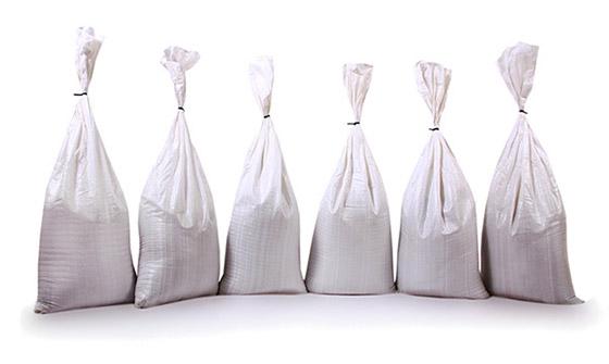 White Sand Bags